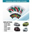 Perodua Epoxy Sticker