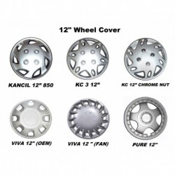 "12"" Wheel Cover (4 pcs per set)"