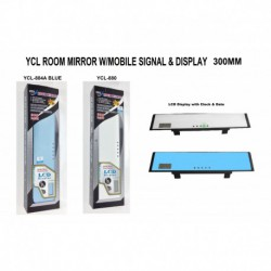 YCL 880 884A Room Mirror 300mm With Signal and LCD Display