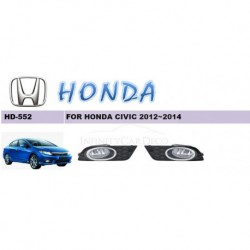 Honda Civic 2012-2014 Original OEM Fog Lamp