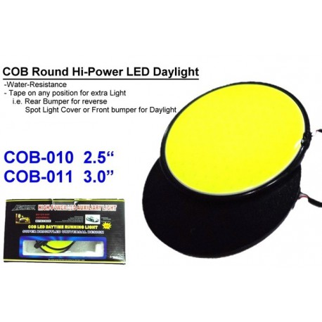 "Round LED Day Light (2.5"" and 3"")"