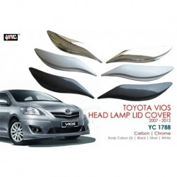 "Toyota Vios Head Lamp Lid Cover (07-12"") YC 1788"