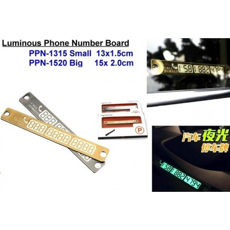 Phone Number Board