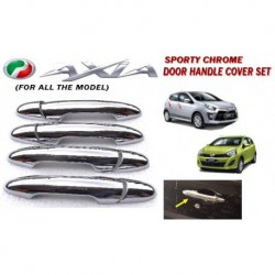 Chrome Door Handle Cover Per Set (Perodua Axia)