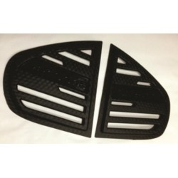 Proton Persona Triangle Mirror Pough Rear Side Window Cover - 3D