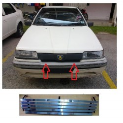 Proton Iswara Aluminium Grill Front Top Grille (Wide Type)