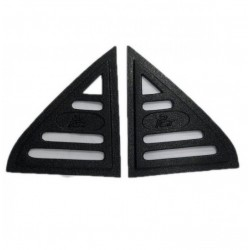 Proton Wira Triangle Mirror Pough Rear Side Window Cover