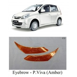 Perodua Viva Head Lamp Eye Brow