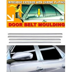 Toyota Vios 2007-2012 Chrome Door Belt Moulding