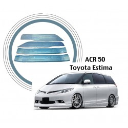 Toyota Estima 2008-2012 Door Side Sill Step Plate With LED