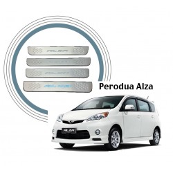 Perodua Alza Door Side Sill Step Plate With LED