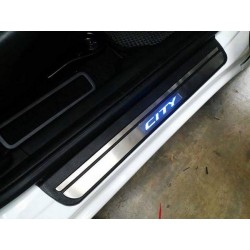Honda City 2014 Door Side Sill Step Plate With LED