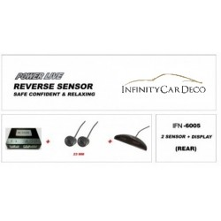 Reverse Sensor (IFN-6005) Rear 2 Eyes with Display