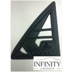 Toyota Vios 09 Yr Triangle Mirror Pough Rear Side Window Cover