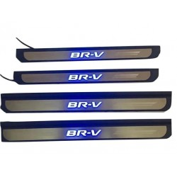 Honda BRV BR-V Stainless Steel LED Door Side Sill Step Plate