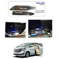 Toyota Vellfire 2015 Above Recon LED Door Side Sill Step Plate