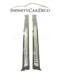 Toyota Avanza Chrome Door Window Pillar Trim Cover / Door Pillar Post