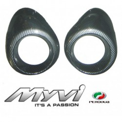 Perodua Myvi Air Cond Cover (Carbon)