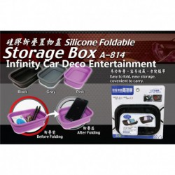 Silicone Foldable Storage Box (A-814)